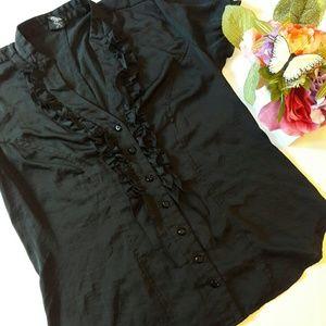 torrid Tops - Ruffled blouse by Torrid
