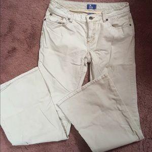 Light Tan Stretch Corduroy Jeans