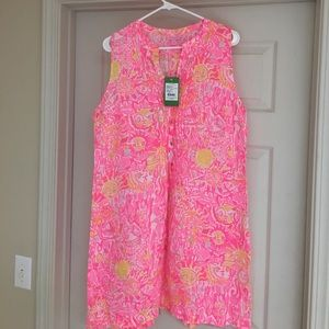 NWT Lilly Sleeveless Sarasota Tunic Dress