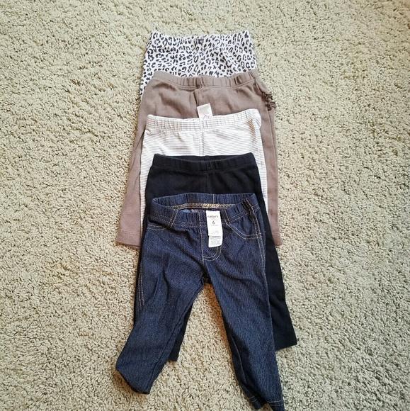 26605d3d85b3 Carter's Bottoms | Carters 6 Month Pants Lots | Poshmark