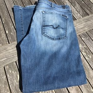 7 For All Mankind Relaxed Jeans Short 38