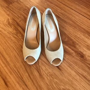 Banana Republic Peep Toe Pumps