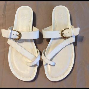 Nurture by Lamaze Shoes - NWOT sz 11 white Nurture sandals with gold buckle