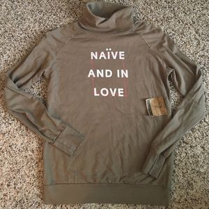 Duck & Dressing Tops - NWT Duck & Dressing | Naive and in love turtleneck