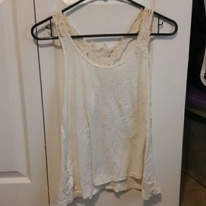 Massimo Alba Tops - Small white sleeveless top