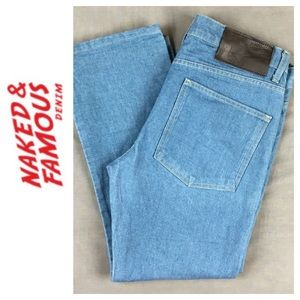 Naked & Famous Denim Other - ☮️Naked & Famous Skinny Guy Antique Blue Jean 36