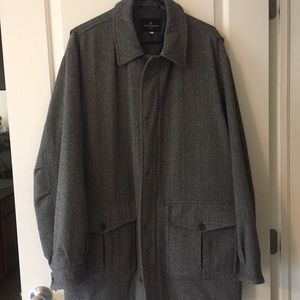 Hickey Freeman Other - Hickey Freeman sport herringbone wool jacket sz XL