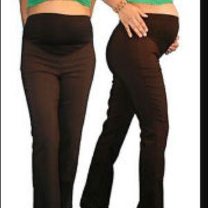 Motherhood Maternity Pants - Motherhood Maternity brown pants. Petite medium