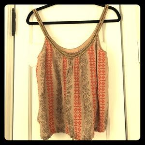 Free People embroidered tank