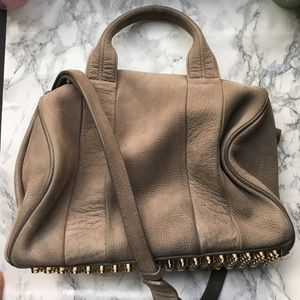 Alexander Wang Handbags - Alexander Wang Rocco Bag | Elephant Grey