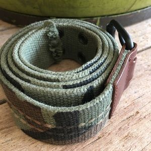 Other - Men's size 36 camo web cotton belt
