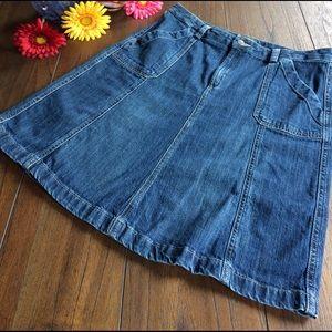 Eddie Bauer Dresses & Skirts - Eddie Bauer Denim Skirt