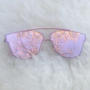 SALE💎 Gigi Pink Mirror Tint Cat Eye Sunglasses