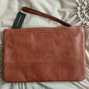 Banana Republic Handbags - Cow leather BR clutch bag