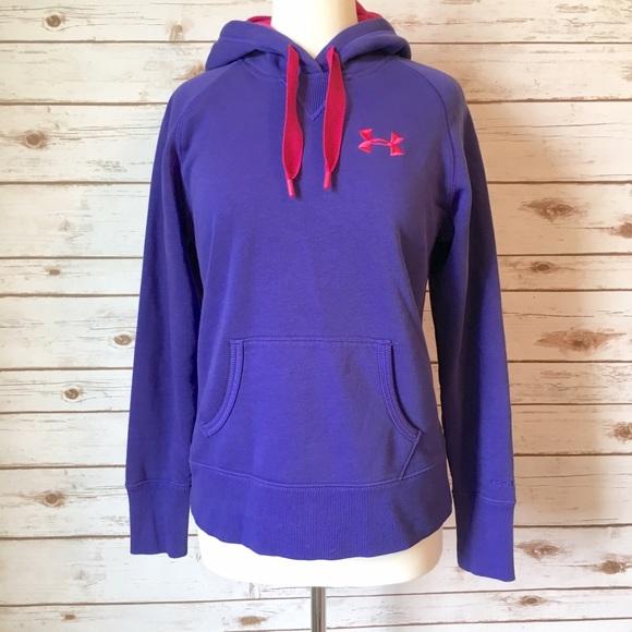 Under armour purple hoodie