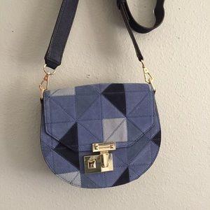Rebecca Minkoff - Paris Patchwork Suede Saddle Bag