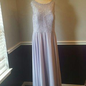 Mori Lee Dresses & Skirts - Mori Lee violet bridesmaid dress style 125