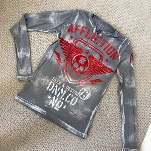 Affliction Other - Men's Affliction Shirt Bundle