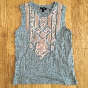 J. Crew sleeveless t-shirt