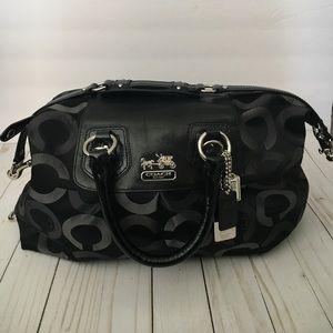 Medium Black Coach Bag