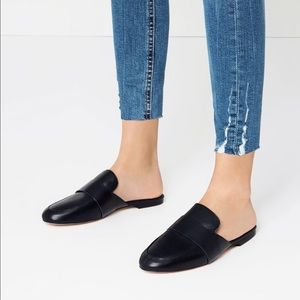 BNWT Zara Navy Loafer Mules