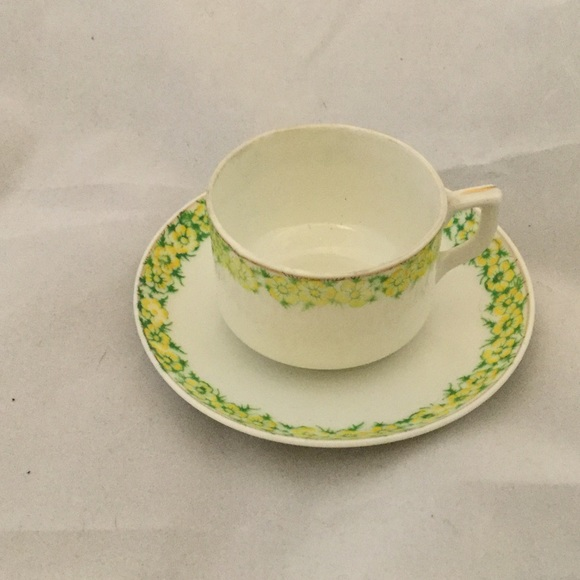 Demi Cup & Saucer, Made In Occupied Japan