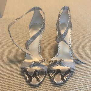 Alexandre Birman Shoes - Alexandre Birman Clarita Python Sandals