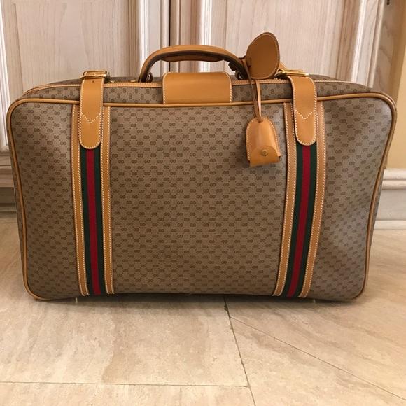 5e0c4ad90ca Gucci Handbags - Vintage Gucci suitcase