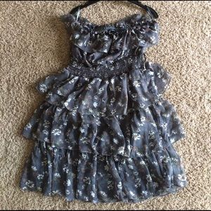 rhapsody Dresses & Skirts - NWOT RHAPSODY STRAPLESS DRESS-size md.