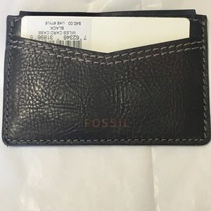 Fossil Other - Fossil card holder