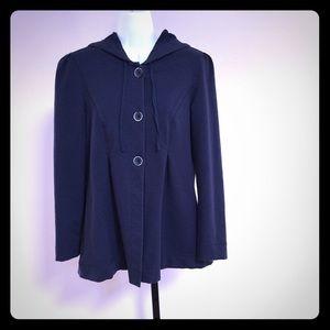 Royal Robbins Jackets & Blazers - ROYAL ROBBINS Cotton Knit Hooded Jacket