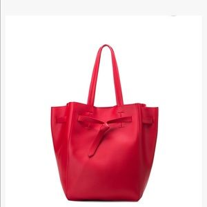 2 BAGS IN 1 Melie Biano Devry Red Tote