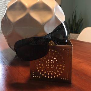 John Richmond Accessories - John Richmond Black Shield Sunglasses