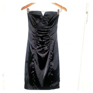 Black Strapless Arden B. Dress