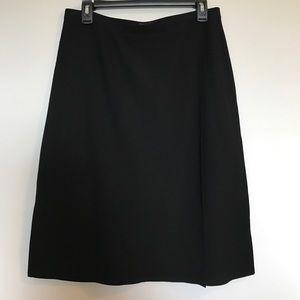 Eileen Fisher Faux Wrap Skirt