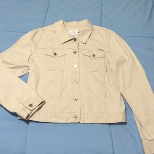 Calvin Klein Jeans Jackets & Blazers - Calvin Klein Jeans khaki jacket. Size XL