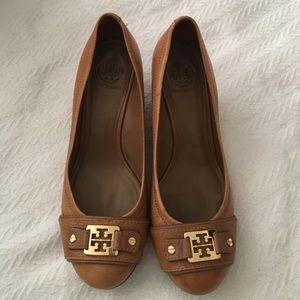 Tory Burch Shoes - Tory Burch Ambrose closed toe wedge
