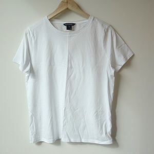 French connection white Tshirt