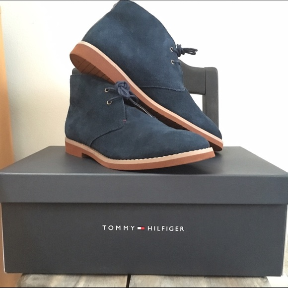 77aa52ce2 MEN S TOMMY HILFIGER CHUKKA BOOT. M 58e025874225bed80b01d6f0. Other Shoes  ...