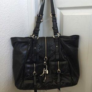 Francesco Biasia Handbags - Francesco Biasia black leather tote