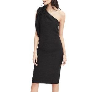 One Shoulder Bow Dress