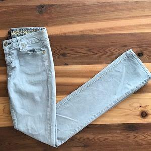 Rich & Skinny Denim - Rich & Skinny Light Grey Skinny Jeans