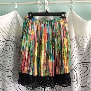 Prabal Gurung For Target Pleated Skirt 14