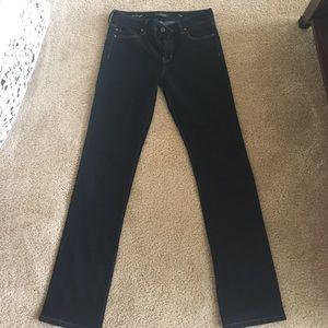 Liverpool Jeans Company Denim - Liverpool The Straight dark denim jeans
