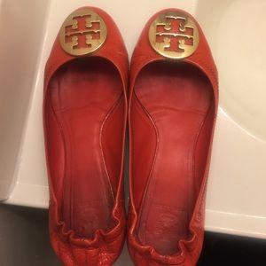 Tory Burch Shoes - Tory Burch Reva Ballet Flats 10.5M