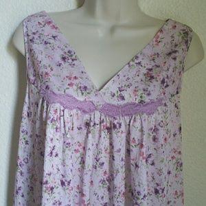 Vanity Fair Other - Floral Lavender Vanity Fair Nightgown