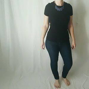 Petit Bateau Tops - Black Short-sleeved T-Shirt from Petit Bateau