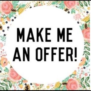 All reasonable offers accepted! 💓