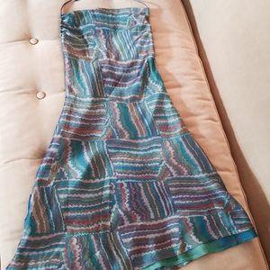 Club Monaco Dresses & Skirts - Halter silk dress