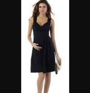 Seraphine  Dresses & Skirts - Maternity Dress M LBD Cocktail NEW Black Saraphine